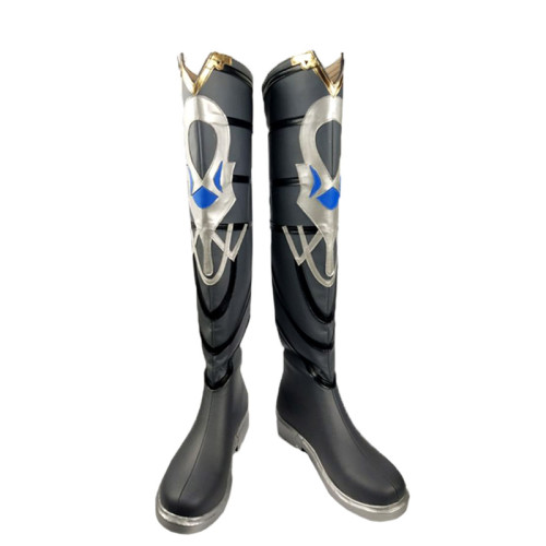 Genshin Impact Albedo Cosplay Boots Cosplay Accessories Cosplay Shoes