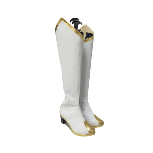 Genshin Impact Amber Cosplay Boots Halloween Cosplay Accessories Shoes