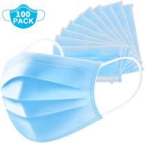 weareneeds Disposable Masks (Blue 100pcs)