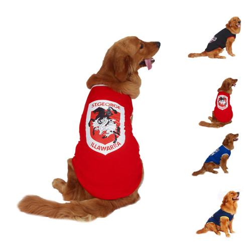 Large and medium-sized and large dog clothing season dog clothing depilation best ventilation wind insulation akita dog shiba inu golden retriever pet clothing fashion sports thin section pet clothing xl-7xl