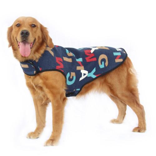 New Big Dog Clothes Spring Autumn Winter Big Dog Vest Labrador Golden Retriever Alaskan Malamute Big Dog Pet Clothing