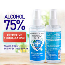 100ml Anti-flu disinfection 75 degrees alcohol disinfection household bacteria ethanol disinfectant spray free hand wash