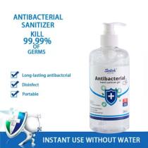 500ml Hand Sanitizer Gel Bottle Large Capacity Disposable Long-lasting Quick-drying Sterilization Hand Sanitizer