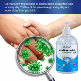 300ml /500ml Anti-virus Rinse-free hand sanitizer Quick-drying resistance to 99.9% of bacteria and viruses Disposable Gel