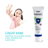 80ml Portable Disposable Hand Gel With 75% Alcohol Disinfection Ethanol Quick-Dry Disposable Gel 75% Disposable Hand Sanitizer