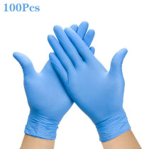 100 PCS Disposable Kitchen hand latex gloves Dishwashing Gloves Rubber Garden Gloves Universal For Left and Right Hand