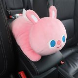 New High Quality Universal Car Armrest Box Tissue Box Creative Cartoon Cute Tissue Box Car Interior Products Car Accessories