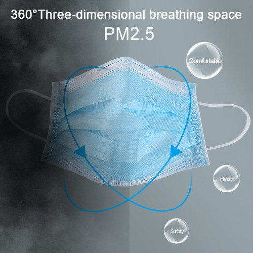 50 disposable masks and 20KN95 masks, anti-dust,anti-virus and anti-smog