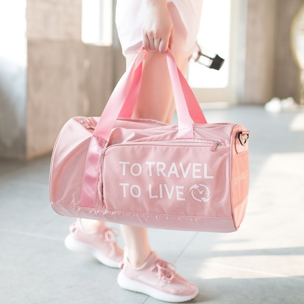 Foldable Travel Duffel Bag Luggage Sports Gym Water Resistant Nylon