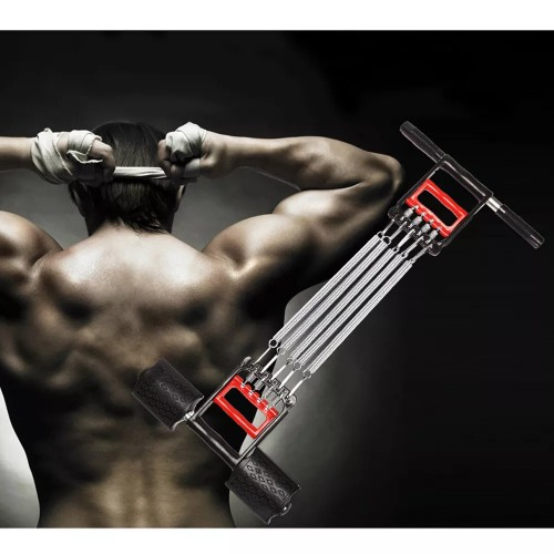 Spring Chest Expander Hand Gripper Pull-Up Bars 3 in 1 Home Fitness Equipment Muscle Training