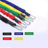 Fitness Rope Set Multifunctional Door Training Equipment Combination Rally Tension Belt Resistance Band Yoga Exercise