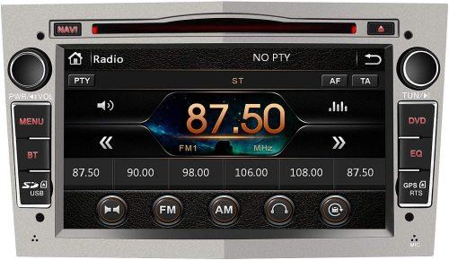 AWESAFE Radio Coche 7 Pulgadas con Pantalla Táctil 2 DIN para Opel, Autoradio con Bluetooth/GPS/FM/RDS/CD DVD/USB/SD, Apoyo Mandos Volante, Mirrorlink y Aparcacimiento