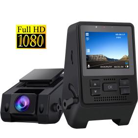 Dash Camera for Cars 1080P Full HD Dash Cam Super Night Vision, 170° Wide Angle, Motion Detection, Parking Monitoring, G-Sensor, Loop Recording
