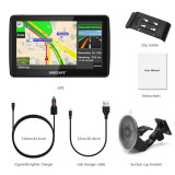AWESAFE GPS Navigation for Car 7 inch Touch Screen Car GPS Navigation System North America Lifetime Map Updates