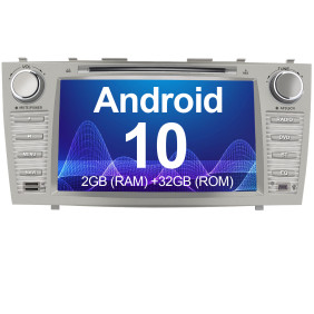 AWESAFE Car Radio Stereo Andriod 10.0 for Toyota Camry 2007 2008 2009 2010 2011 Double Din 8 inch Touch Screen Head Unit with Bluetooth WiFi Steering Wheel Control