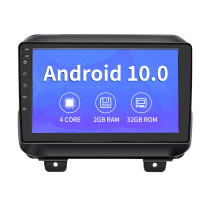 AWESAFE Car Radio Stereo 9 inch Touch Screen Andriod 10.0 with Bluetooth WiFi GPS Support Apple Carplay Andriod Auto for Jeep Wrangler JL 2018-2019