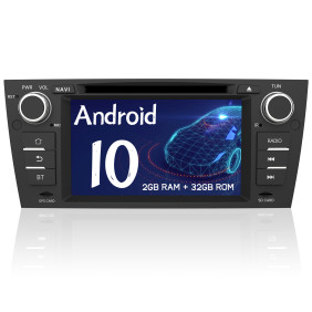 AWESAFE Car Radio Stereo Android 10 for BMW 3 Series 328i 335i 325i E90/E91/E92/E93 7 Inch Touch Screen Head Unit with Bluetooth Support Apple Carply Andriod Auto
