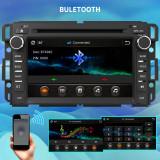 Car Radio Stereo for GMC Sierra Yukon Chevrolet Buick Chevy Silverado with Bluetooth, Steering Wheel Control,FM Radio,GPS Navigation