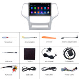 AWESAFE Car Radio Stereo Andriod 10 for Jeep Grand Cherokee WK 2010 2011 2012 2013 with GPS Navigation Support Apple Carplay