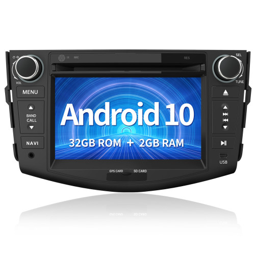 AWESAFE Car Radio Stereo Andriod 10.0 for Toyota RAV4 2006 2007 2008 2009 2010 2011 2012 Head Unit with Bluetooth WiFi Support Carplay Andriod Auto