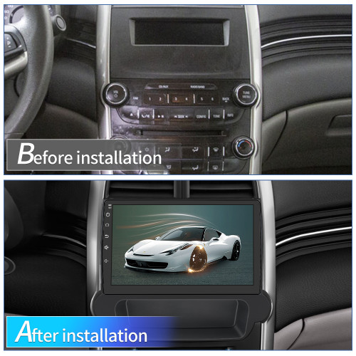 AWESAFE Car Radio Stereo Andriod 10 for Chevy Malibu 2012-2015 Support Carplay Andriod Auto with Bluetooth WiFi GPS Navigation