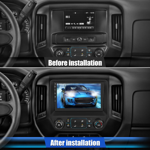 AWESAFE Android 10.0 Car Radio Stereo for Chevy Chevrolet Silverado 2013-2019 10 Inch Touch Screen Support Carplay Andriod Auto