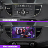 AWESAFE Car Radio Andriod 10.0 for Honda CRV 2012-2016 Touch Screen Stereo 10 inch Support Bluetooth WiFi GPS Navigation Mirror Link SWC