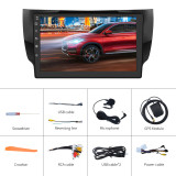 AWESAFE Car Radio Stereo Android 10 for Nissan Sentra 2012-2017 2G+32GB WiFi GPS Navigation Bluetooth AM/FM Touch Screen Support Android/iOS Mirror Link, Steering Wheel Controls, Subwoofer