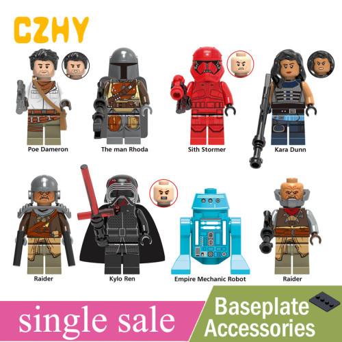 Star Wars Building Block Model MiniFigure Kylo Ren Sith Lord Lego Compatible