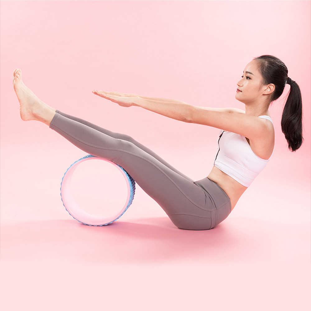 Yoga Wheel Massage Wheel Back Stretch Roller for Back Pain Relief