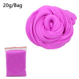 Wholesale DIY Fluffy Slime Box Supplies Soft Clay Foam Scented Stress Relief  Cotton Release Clay Plasticine Toys for child