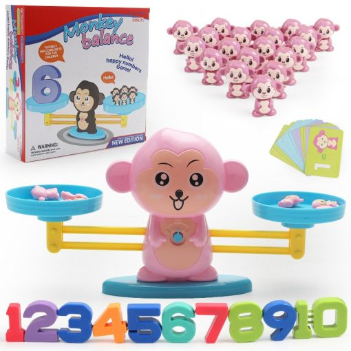 Cute Animals Digital Balance Scale Toy Early Learning Balance Children Enlightenment Digital New Math Arithmetic Toys Kid Gifts