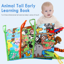 Baby Educational Toys Baby Soft Cloth Book Clothbooks Non-Toxic Cloth Books Educational Fabric Toys Baby Early Learning Toys
