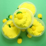 Drop Shipping 60ML Tropical Stretch Cloud Slime Scented Charm Mud Stress Relief Kids Clay Toy slime fluffy