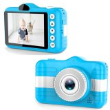 Mini Digital Camera 3.5 Inch Cartoon Cute Camera Toys Children Birthday Gift 1080P Toddler Toys Students Education Video Camera