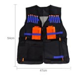 For Toy Gun New Tactical Kit Safety Vests Adjustable with Storage Closing Pockets Fit+Wrist band AS Free Gift