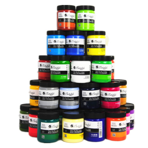 300 ml  kids Acrylic paint interior wall painting Drawing Toys  Shirt outdoor spraying toys