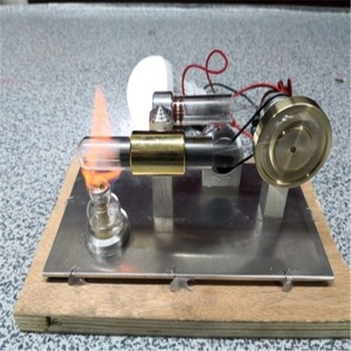 Upgrade Stirling engine Model Building Kits  Education DIY Model Toy Gift For Kids Craft Ornament Discovery Toy