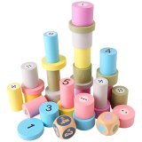 Children Montessori Wooden Cylinders Early Education Toys Kids Children Early Teaching Gift intellectual development