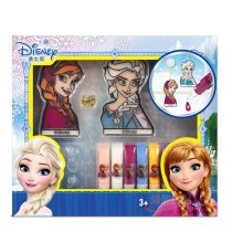 Disney  Frozen elsa and anna Non-iron painting Toys 3D Handmade Princess Sophia cars Learning  Education Drawing Toys baby gift
