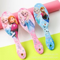 Disney Frozen cartoon children's massage comb Cute air cushion anti-static comb Princess baby airbag comb