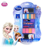 girls Disney frozen Cosmetics Safety Non-toxic Snow Ice Princess Cosmetic Box Set  Performed Home Lipstick toy gift