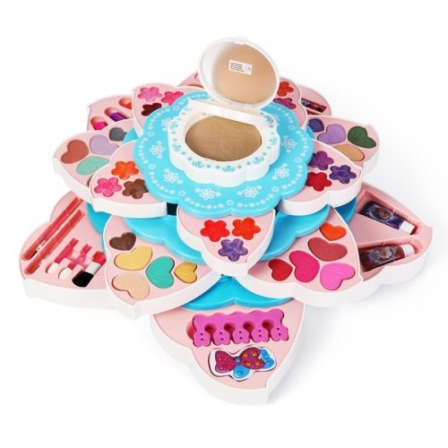 Disney Girls Makeup Toys pretend play Beauty Fashion toys Children's Cosmetics Makeup Box Princess Girl Birthday Gift Toy Set