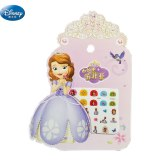 new girls Cartoon Frozen elsa and Anna Nail Stickers  Disney princess snow White Sophia Mickey Minnie kids  Makeup Toys