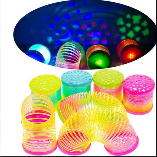 3pcs/lot Glowing spreads the game full of stars cast color red circle puzzle toys 1-5 year old baby toys