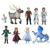 9 pcs/set Cartoon frozen 2 elsa anna   Figures toys set kids cake decoration Action toys