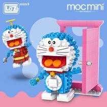 LOZ Mini Blocks Figures Anime Character Robot Cat Cartoon Animals Building Blocks Bricks Diy Enlighten Brick Toys for Children