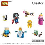 LOZ Mini Block Figure Anime Assembly Model Building Blocks Set Dolls Bricks Toy Kids Gift Brick Built Creators Cartoon DIY 1818