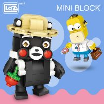 LOZ Mini Blocks Building Brick Cartoon Anime Plastic Assembly Model Cheap Toy Educational Toys Children DIY Figure Dropshipping
