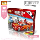 LOZ Mini Blocks Creator Plastic Building Blocks Toys Gifts Racing Model Educational Toys for Children Bricks Assembly City Bulid